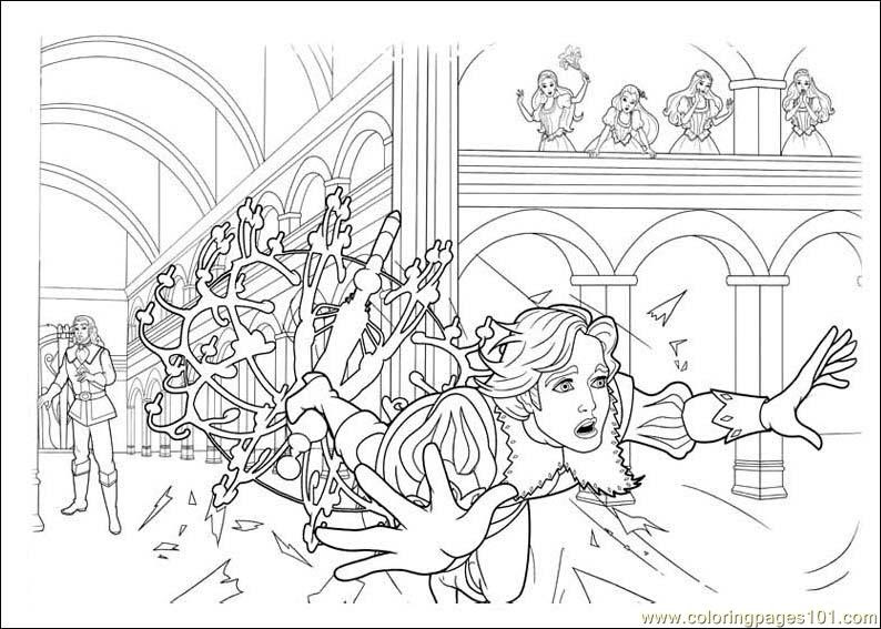 6600 Barbie Musketeers Coloring Pages Download Free Images