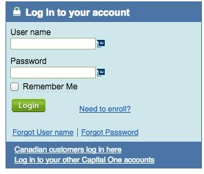 Capital One Account