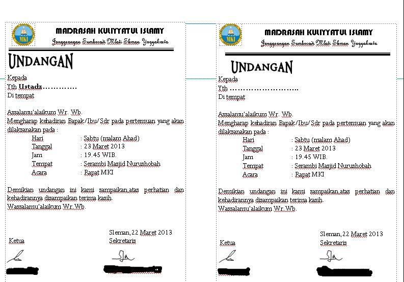 contoh undangan perpisahan untuk guru contoh isi undangan