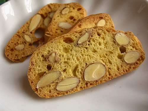 Vanilla + Almond Biscotti