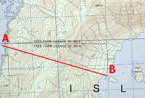 Line On A Map Geomatics tools: Topographic Map Symbols