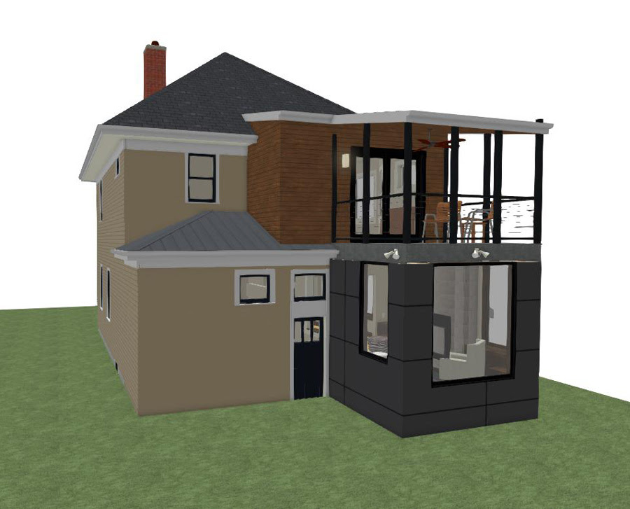 Building A Modern Minneapolis Home Addition White Crane Remodeling