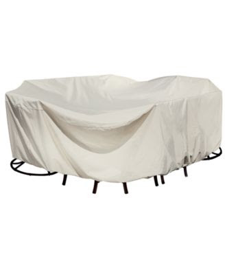 Outdoor Patio Furniture Cover, XL Oval/Rectangle Table & Chairs ...