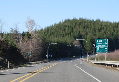 US 101 @ SR 107