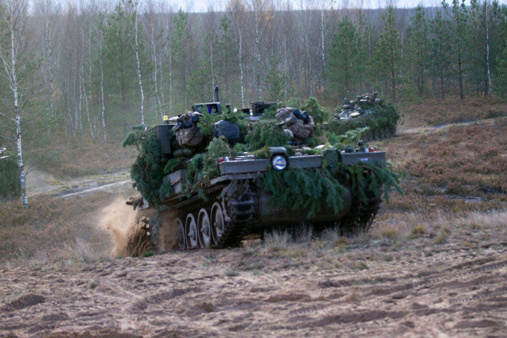 """Latvia is training up a """"home guard"""" and investing in special operations"""