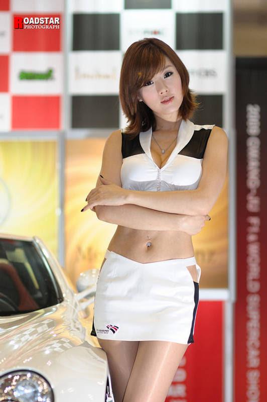 Hwang MiHee Racing Queen  Gwangju Motor Show Korea