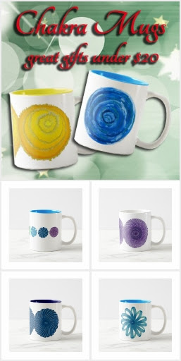 Chakra Mugs - Unique Holiday Gifts Under $20