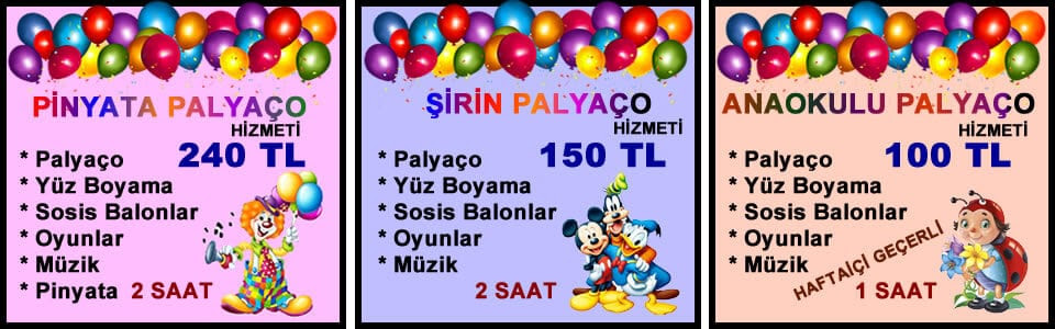 Palyaço Kiralama Istanbul Doğum Günü Palyaço Hizmeti