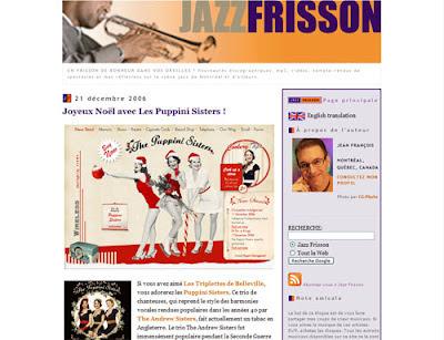 Jazz Frisson, Ancienne version