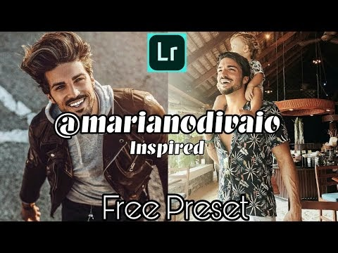 How to Edit Like @marianodivaio l Mariano Di Vio Instagram