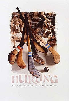 irish posters    gaa hurling irish sports montage