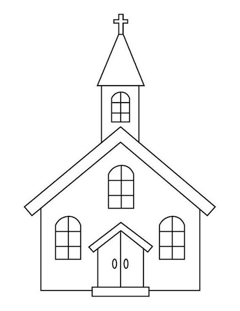 Cool Church Coloring Pages