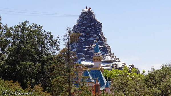 Disneyland Resort, Disneyland, Matterhorn, Sleeping Beauty Castle