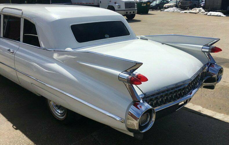 1959 Cadillac Fleetwood 75 Limousine for sale: photos ...