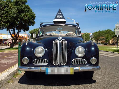 BMW 8V - Carro antigo - Old car