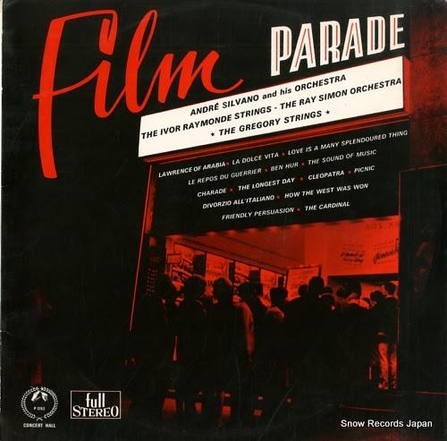 SILVANO, ANDRE film parade