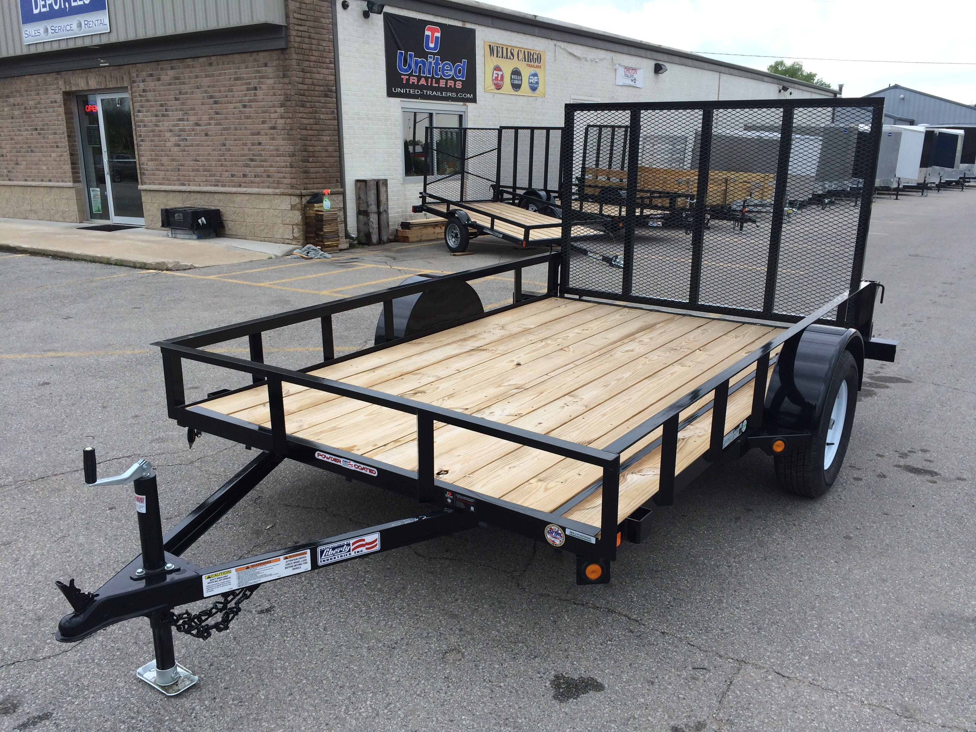 2018 Liberty 6 5 x 10 Utility Trailer Bay Trailer Depot