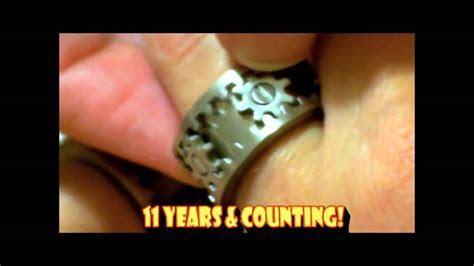 Gearhead Wedding Rings   YouTube