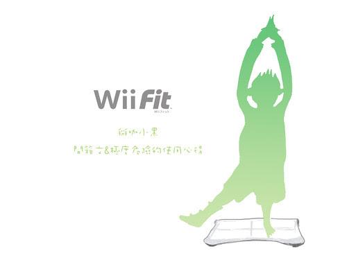 小黑入手WiiFit