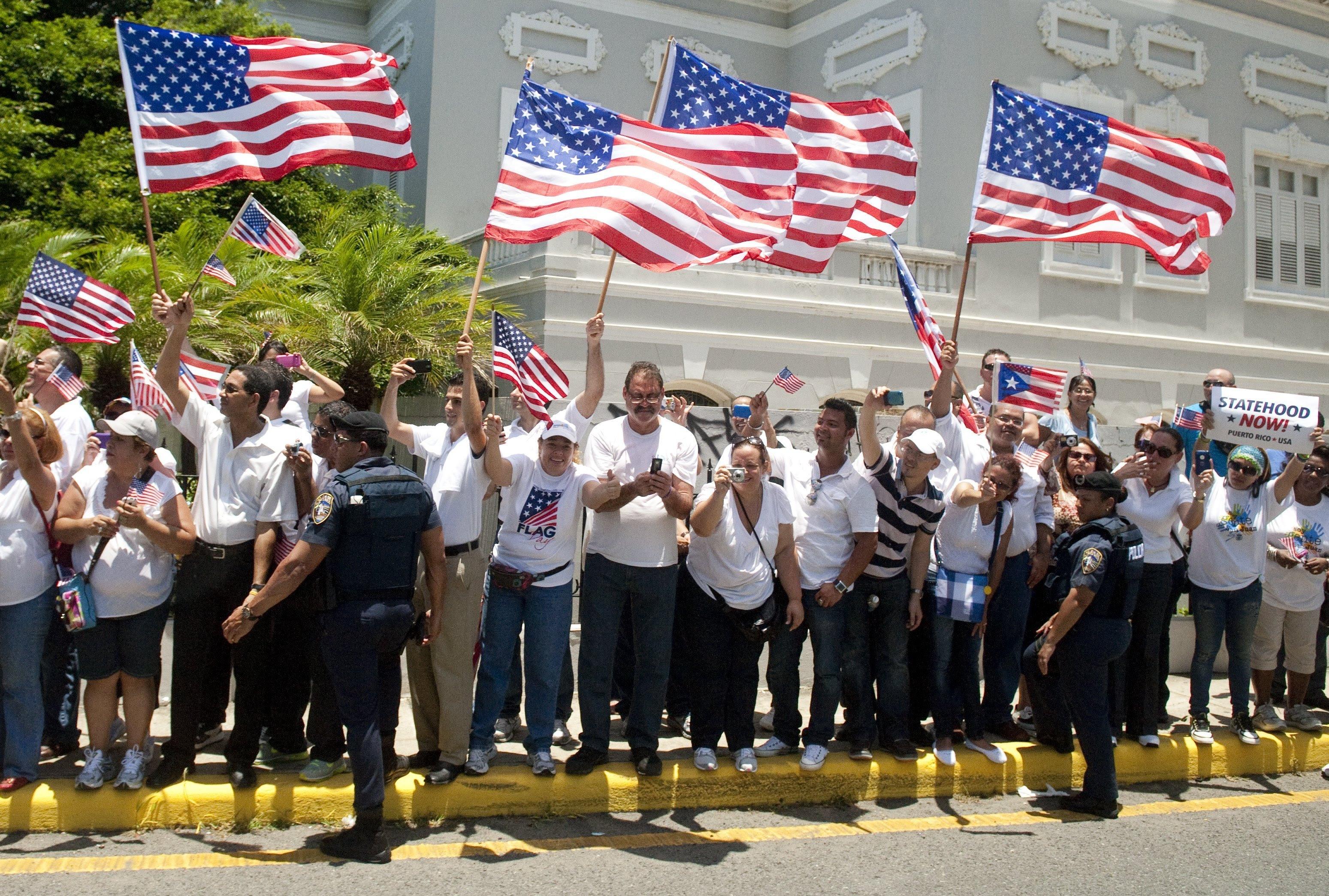 puerto rico american flag