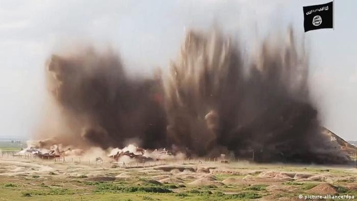 Irak Nimrud Zerstörung durch IS (picture-alliance/dpa)