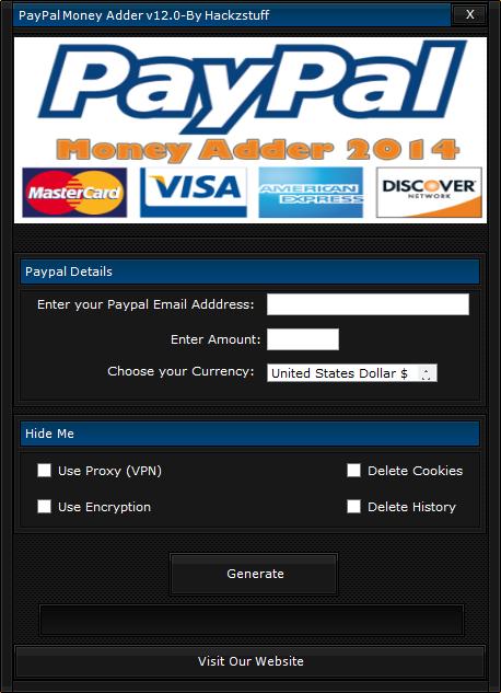 Paypal Money Adder Download Downloadmeta