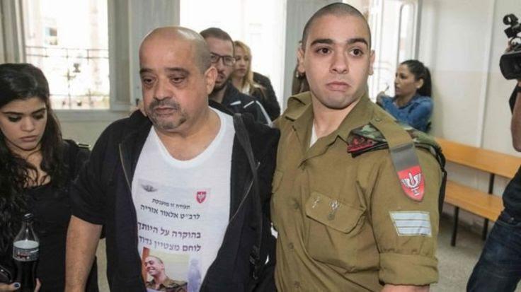 ممکن است آزاریا (راست) به تحمل تا ۲۰ سال زندان محکوم شود