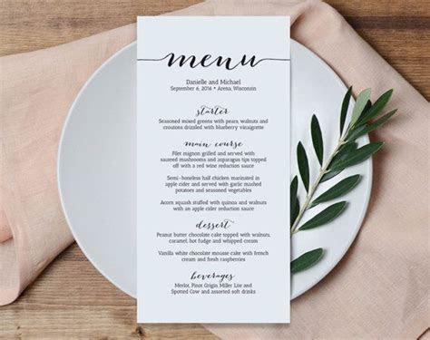 Image result for formal italian dinner menu template