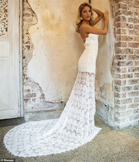 Showpo to launch new wedding dress collection   Daily Mail