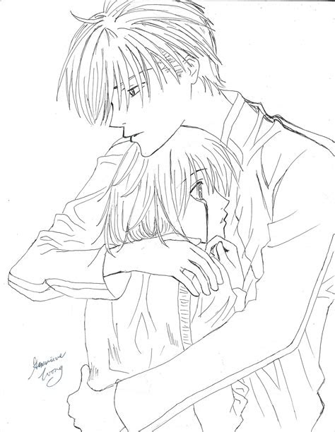 anime couples cuddling drawings   draw couples cuddling