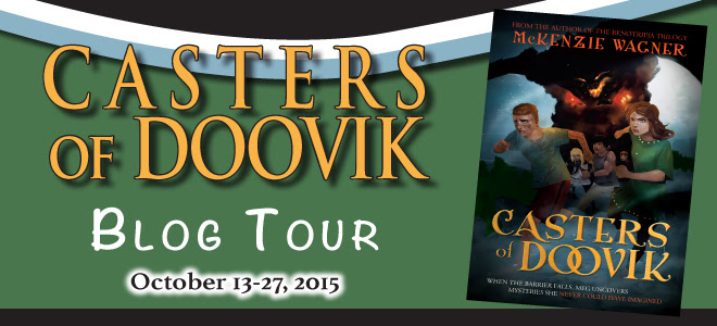 Casters of Doovik blog tour
