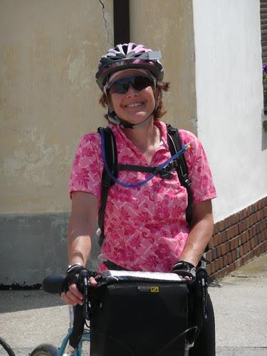 Lynne arrives in Gyor