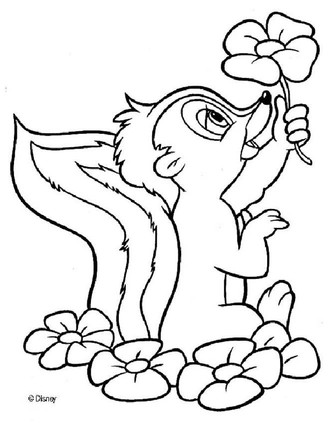 Bambi Coloring Pages Printable Coloring And Drawing
