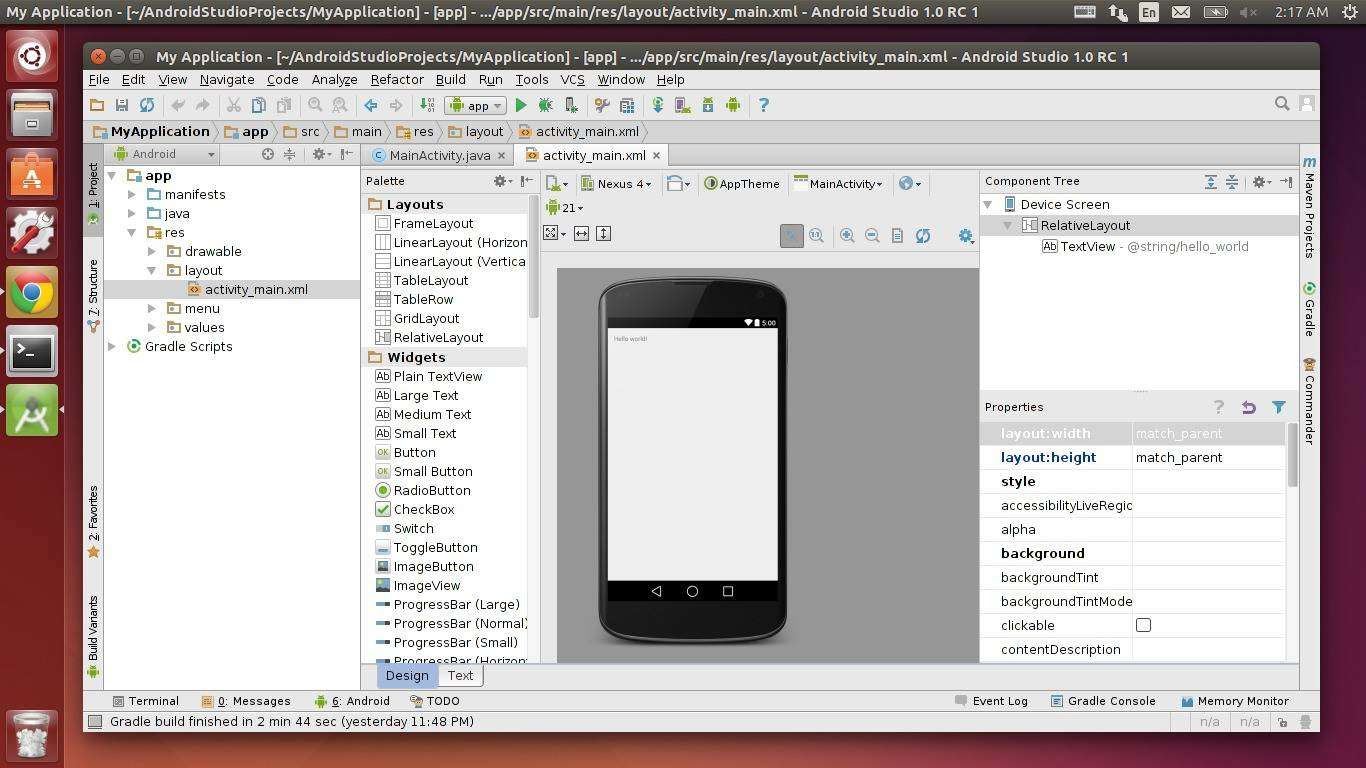 How to Install Android Studio in Ubuntu 14.04/14.10/12.04
