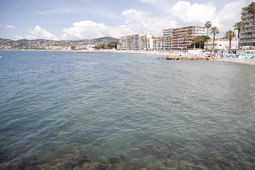 Beach at Juan Le Pins