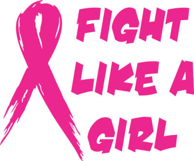Download StickerChic : Fight Like a Girl Support Breast Cancer ...