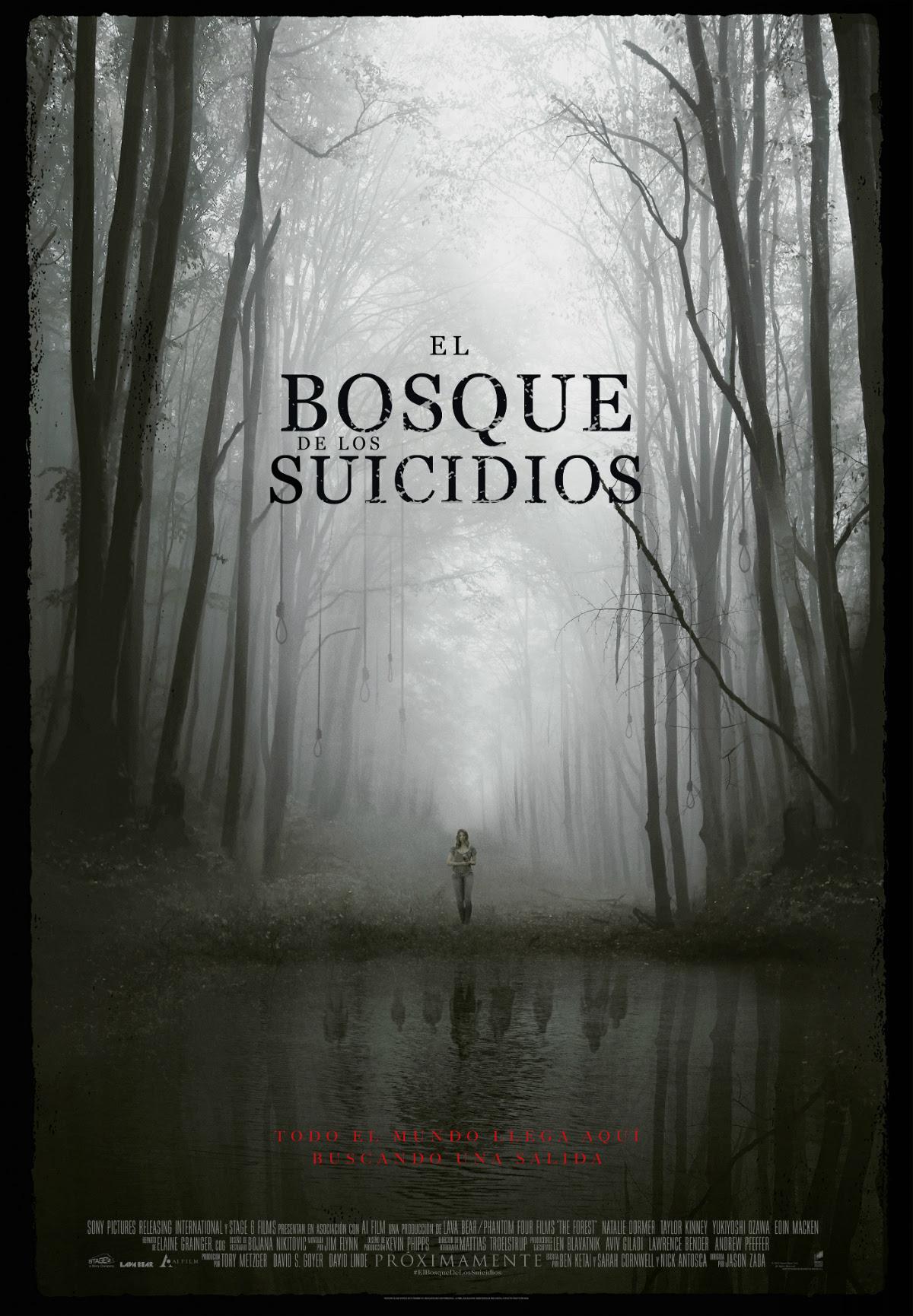 Resultat d'imatges de el bosque de los suicidios pelicula
