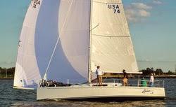 J/111 Zydeco winning Sawgrass Series on Gulf of Mexico