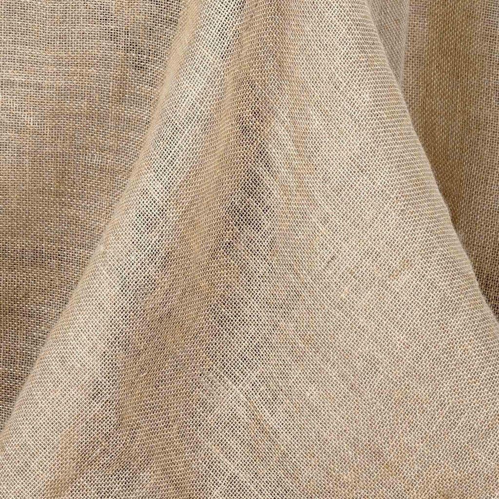 60 X126 Natural Tone Chambury Casa Rustic Burlap Rectangle Tablecloth Tableclothsfactory