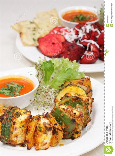 Fine Dining Meal, Chicken Shish Kebab Stock Image   Image