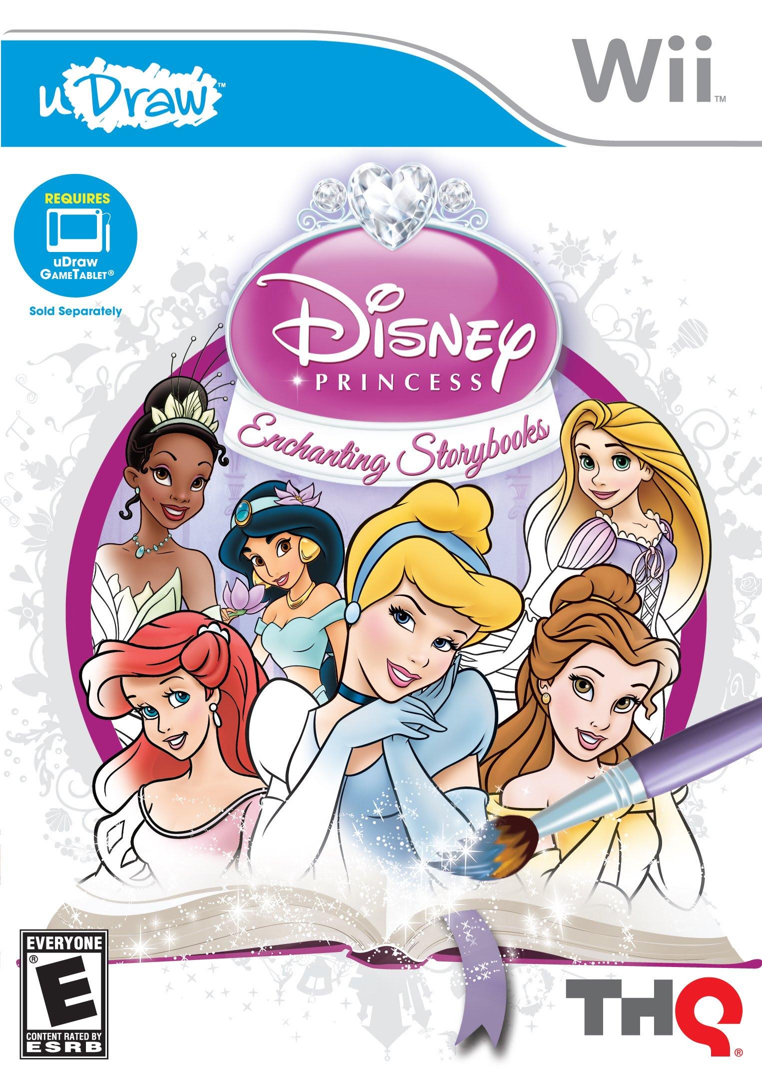 uDraw Disney Princess: Enchanting Storybooks Release Date ...