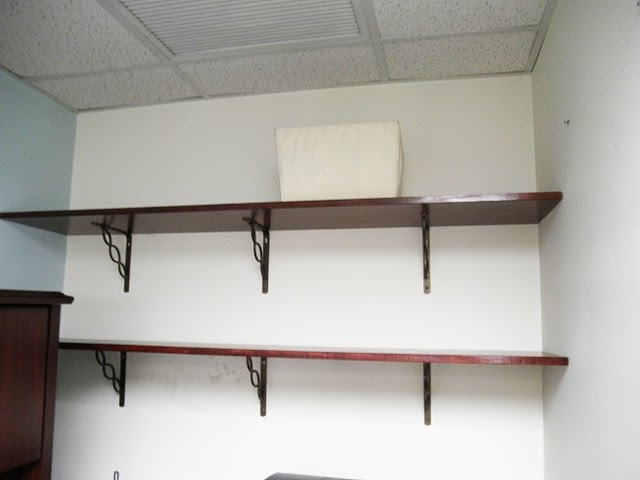 Wooden shelves - traditional - wall shelves - new york - by Open ...