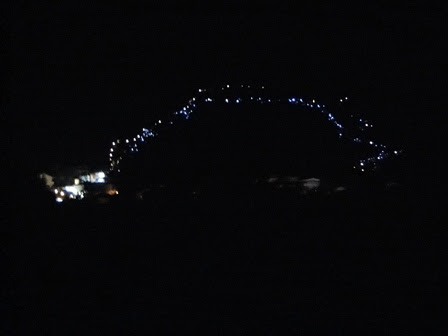 lights on Apparition Hill