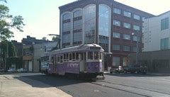 Memphis vacation: trolley