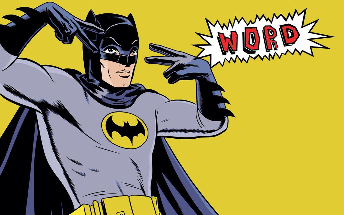 Image result for batman word