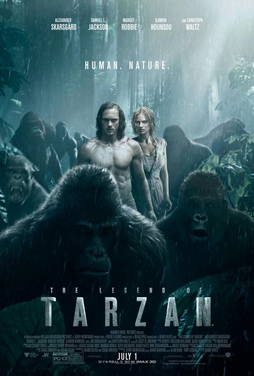 The Legend of Tarzan, La Leyenda de Tarzan, cine, película, cartelera, nos vamos al cine, animales, 3d, naturaleza, aventuras, blog de cine, solo yo, blog solo yo, blogger alicante,