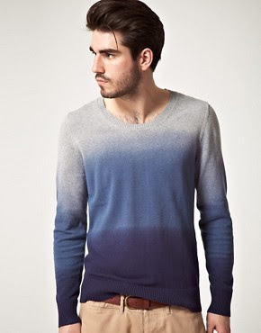 Image 1 of Drykorn Dip Dyed Scoop Neck Sweater