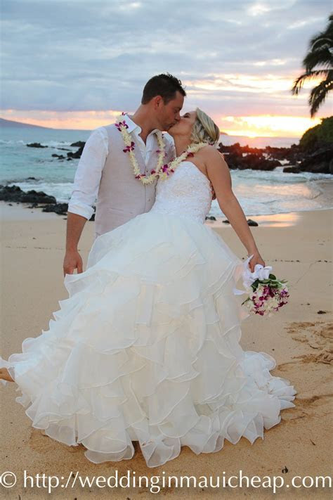 Affordable Maui Beach Weddings   Affordable Barefoot Maui