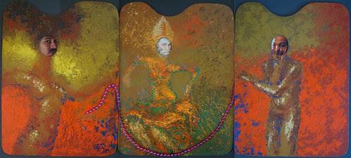 La cuerda floja-rosario púrpura en tres actos. by Otto Aguilar