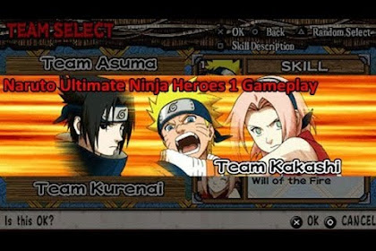 Free Download Game Naruto Ultimate Ninja 1 for Computer PC or Laptop
